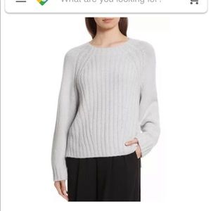Vince grey wool/cashmere sweater